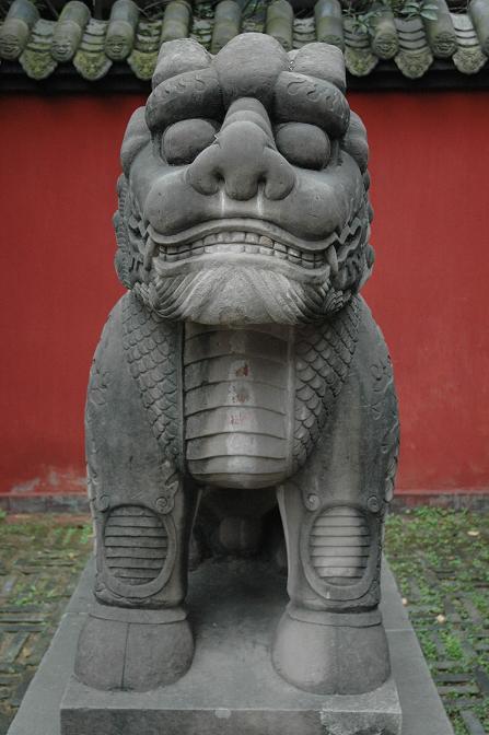 Го учит видеть, путешествия Мастера Го, храм полководца Джугэ Лиана