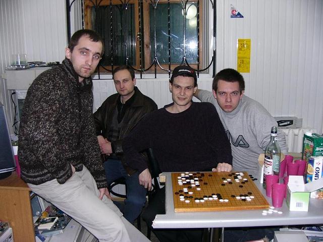 Любители Го из Сочи, 2005 год