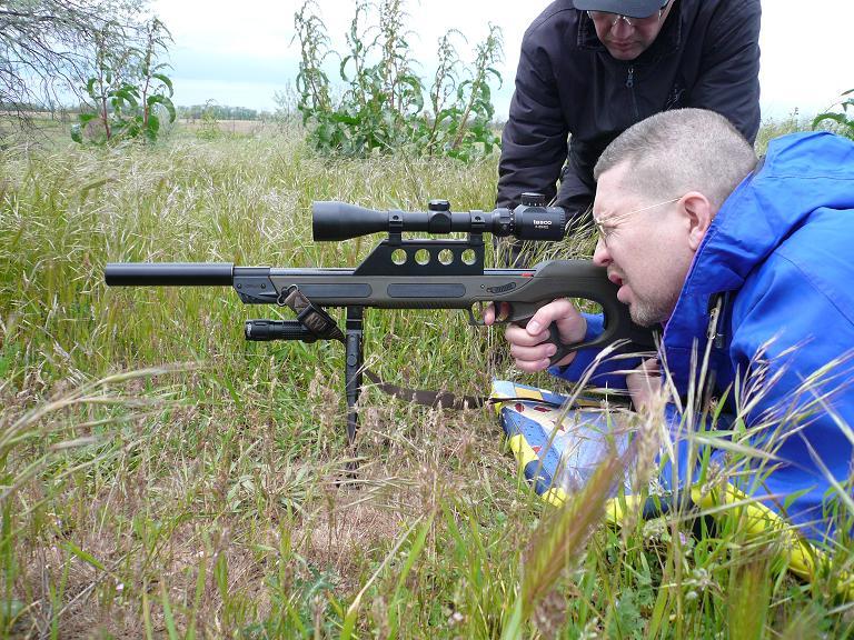 На фото - винтовка Вальтер. Чудо немецкого военпрома.