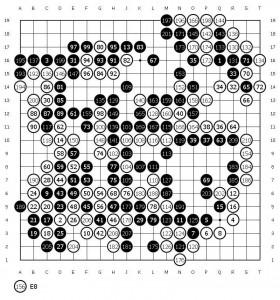 Ли Седоль - Альфа Го, вторая игра